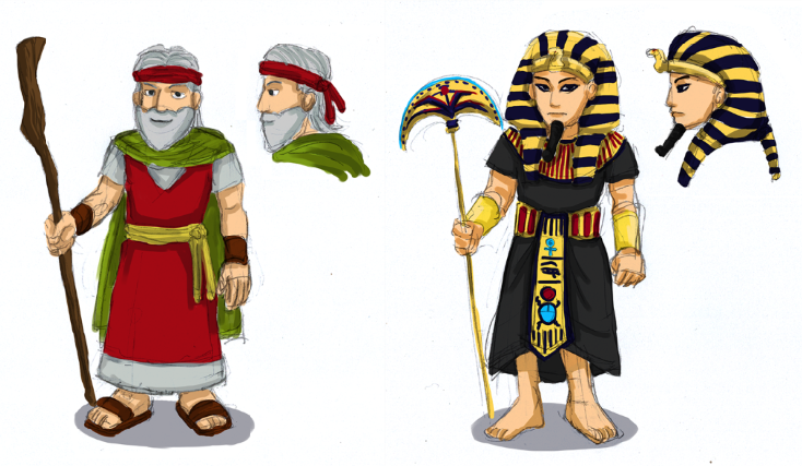 Cliparts free download best. Moses clipart pharoah