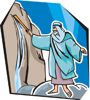 Moses clipart rock. Cliparts free download best