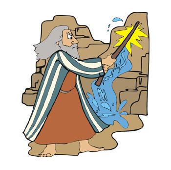 Fellowship bible church blog. Moses clipart rock