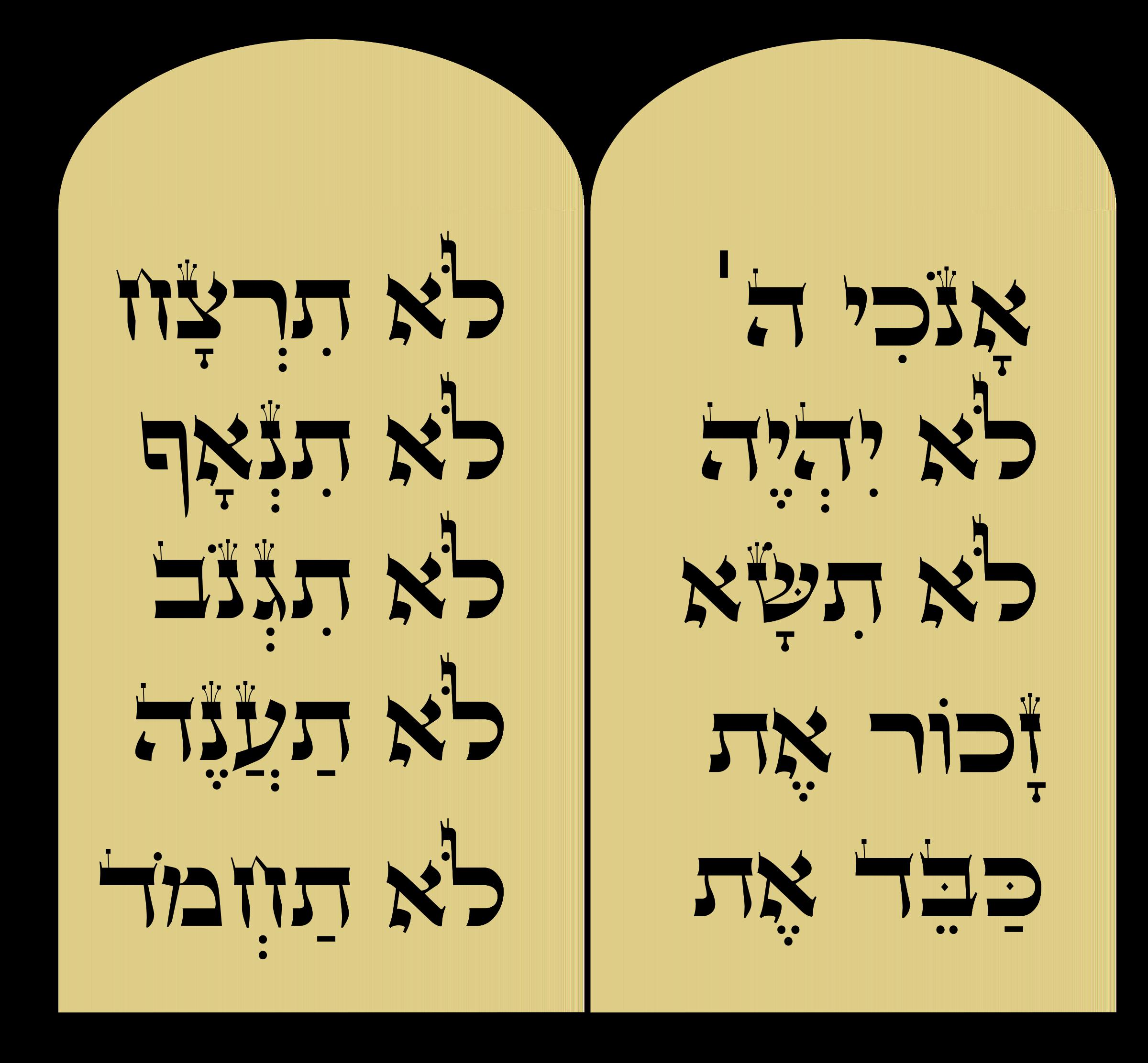 Big image png. Ten commandments clipart little kid