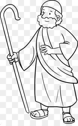 Moses clipart sheperd. Download free png white