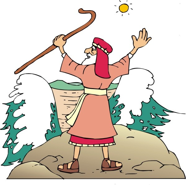 Moses clipart staff moses. Collection of free download