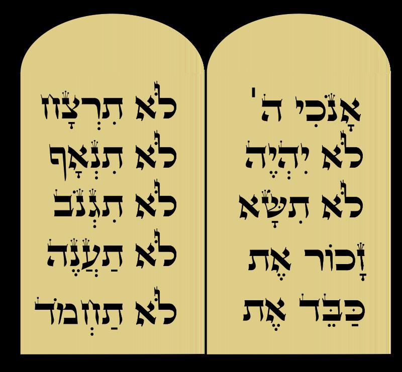 Medium image png . Ten commandments clipart clip art