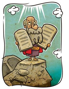 best moses images. Ten commandments clipart animated