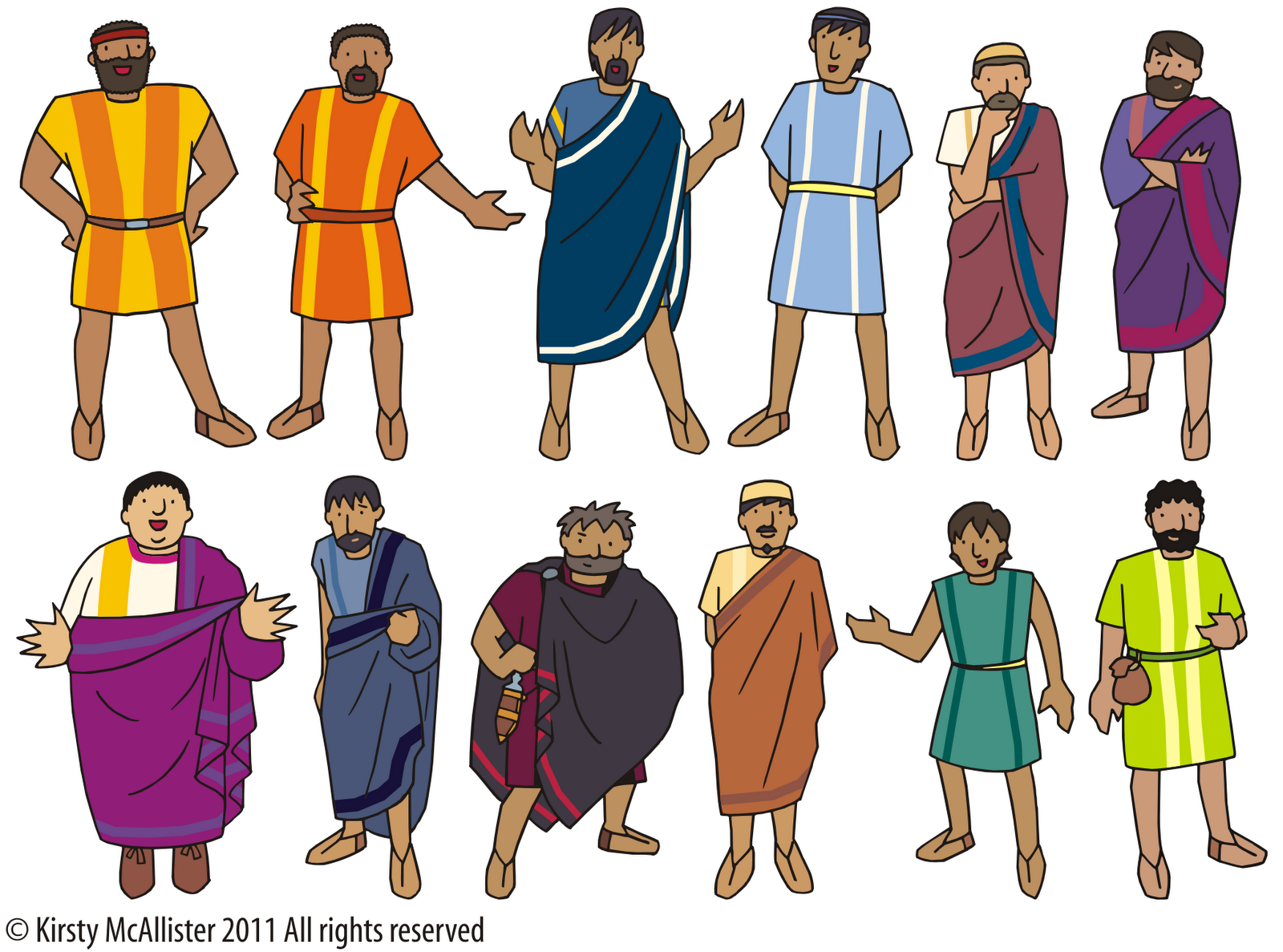 The disciples print and. Moses clipart twelve disciple