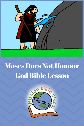 Does not honour god. Moses clipart twice