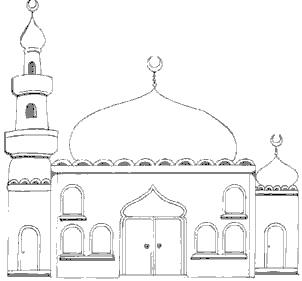 Mosque clipart black and white. Free cliparts download clip