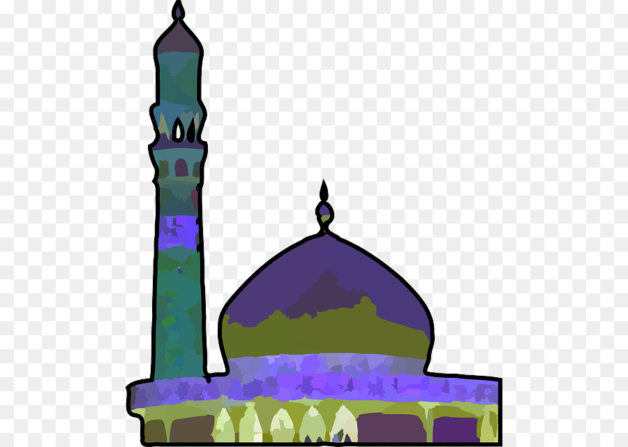 Mosque clipart cartoon. Muslim islam transparent clip