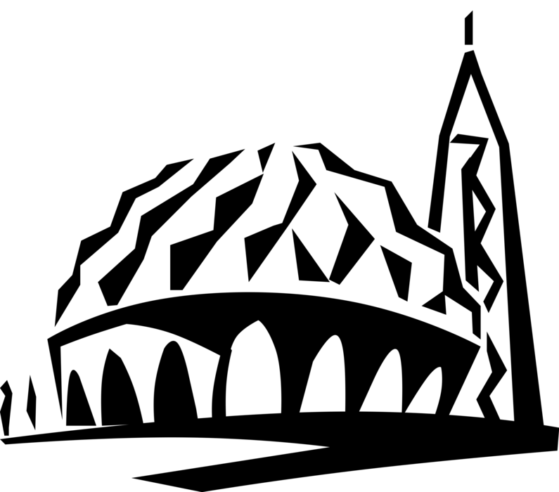 Mosque clipart extended family. Masjid al nilin two