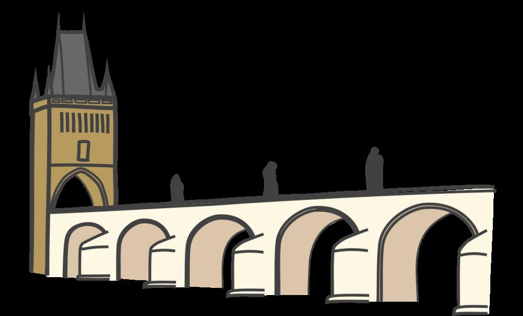 Mosque clipart gate. Charles bridge tower golden