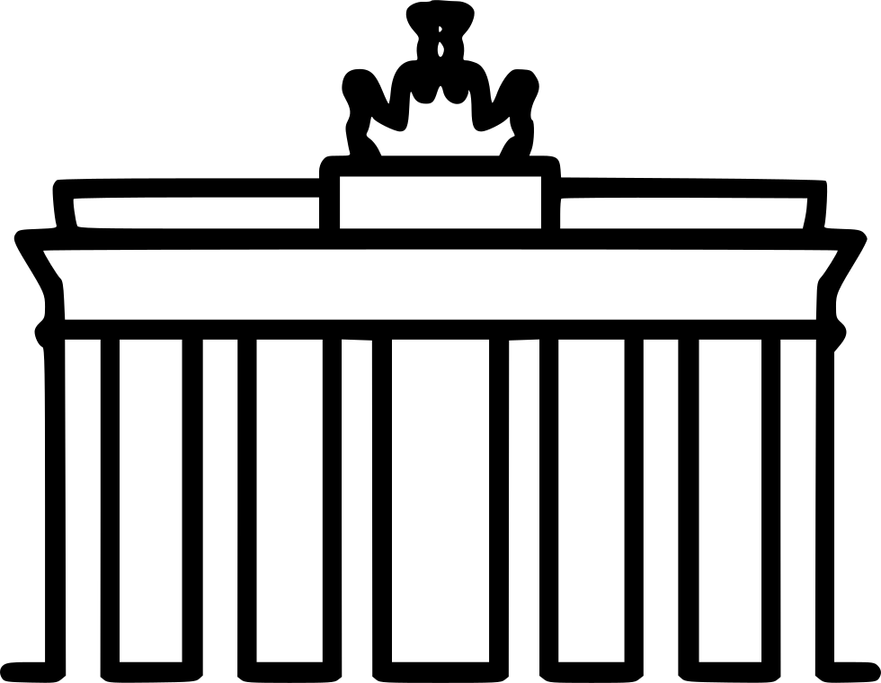 Mosque clipart gate. Berlin svg png icon