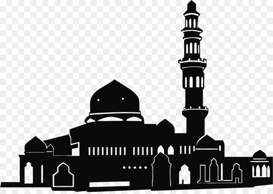 Mosque clipart illustration. Logo masjid islam