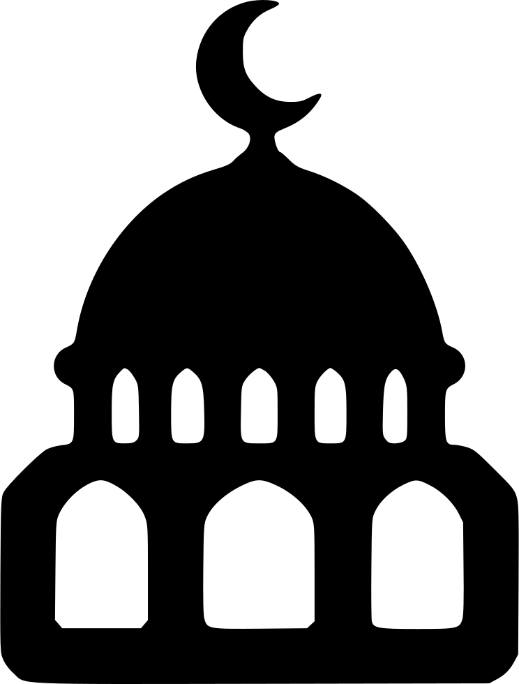 Svg png icon free. Mosque clipart masjed