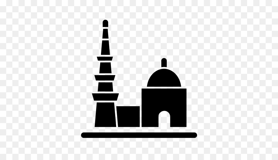 Mosque clipart minar. Silhouette png download free