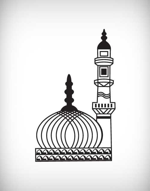 Islam islamic ramadan quran. Mosque clipart minar