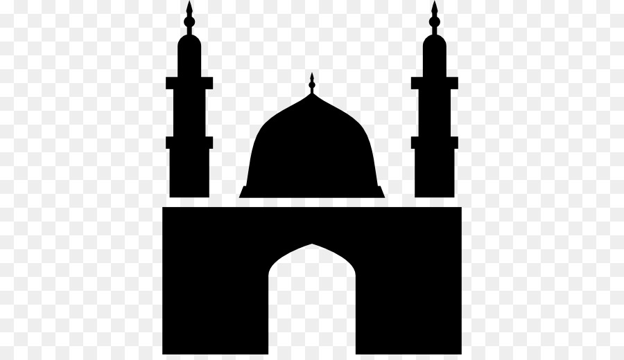 Mosque clipart minaret mosque. Silhouette png download free