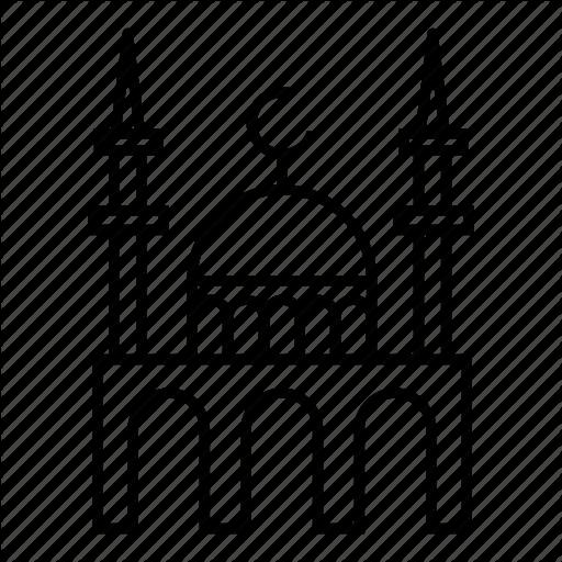 Mosque clipart minaret mosque. Islamic background black islam