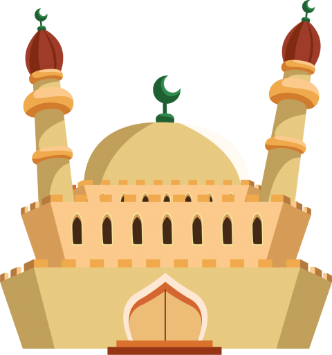 Mosque clipart mosque design. Png