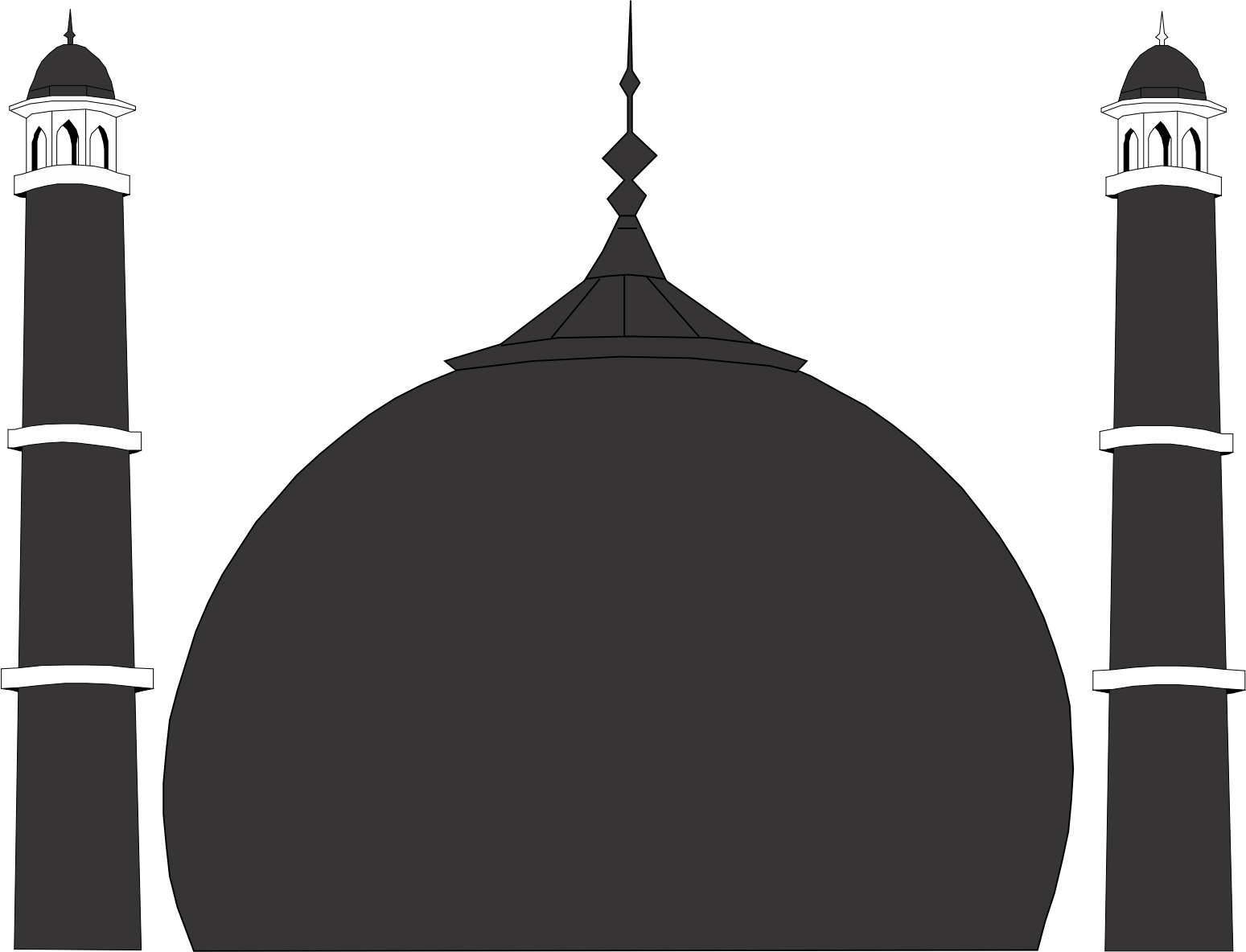 Mosque outline