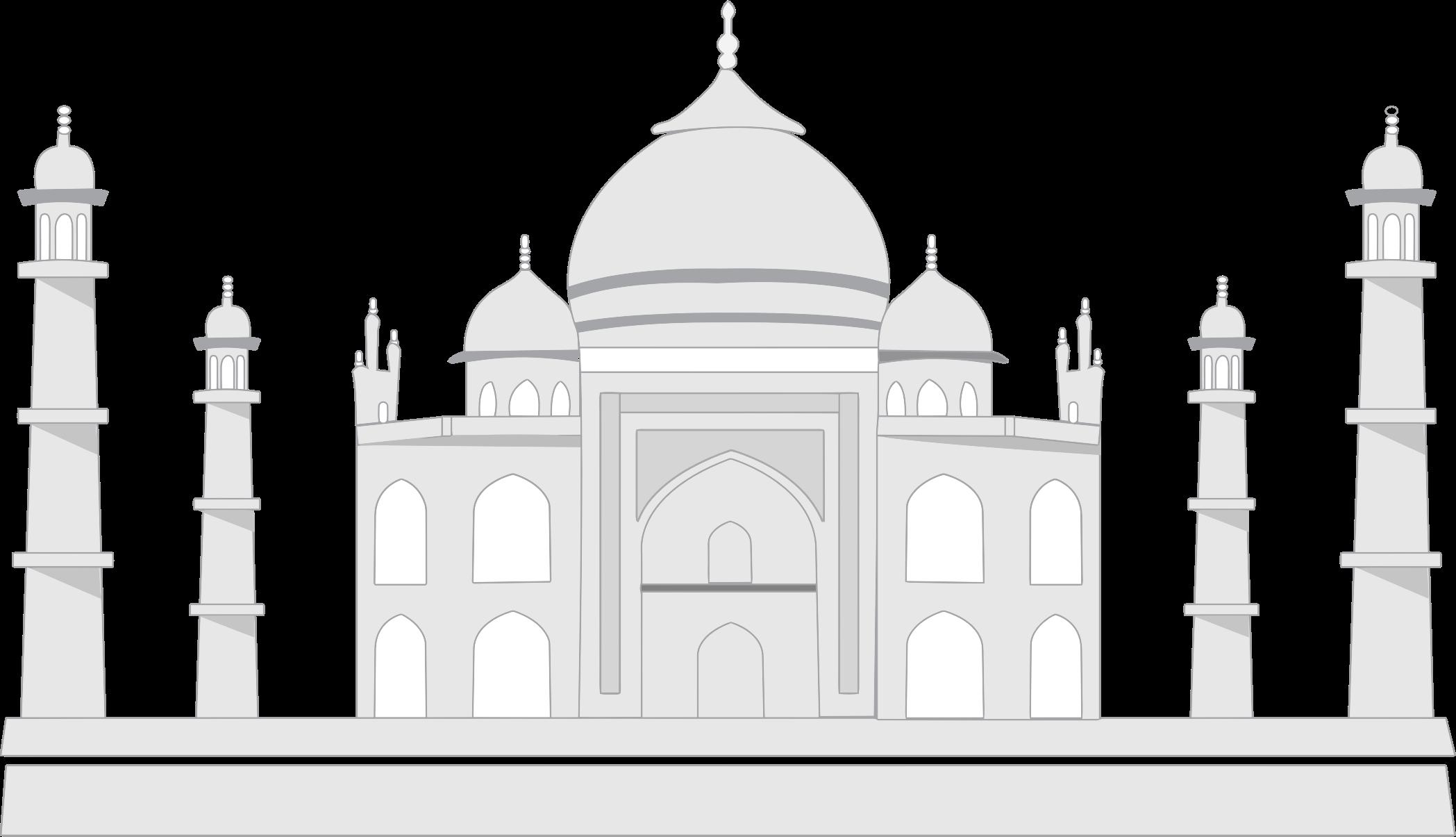 Mosque raj mahal