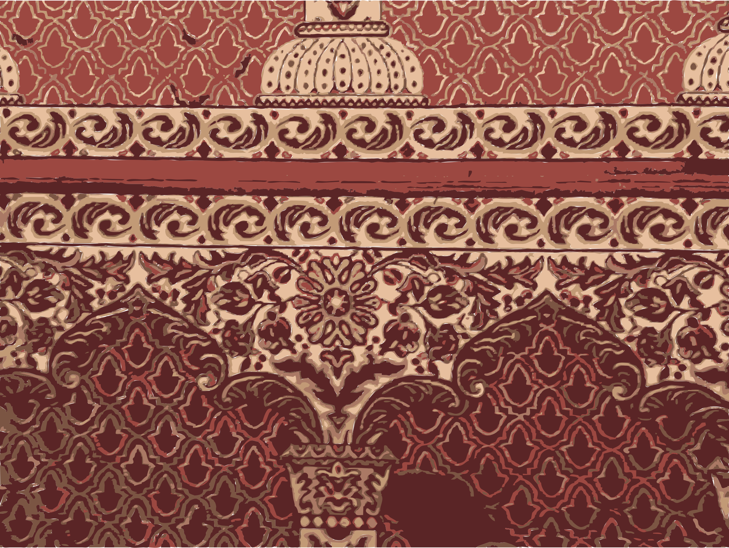 Pattern big image png. Mosque clipart red