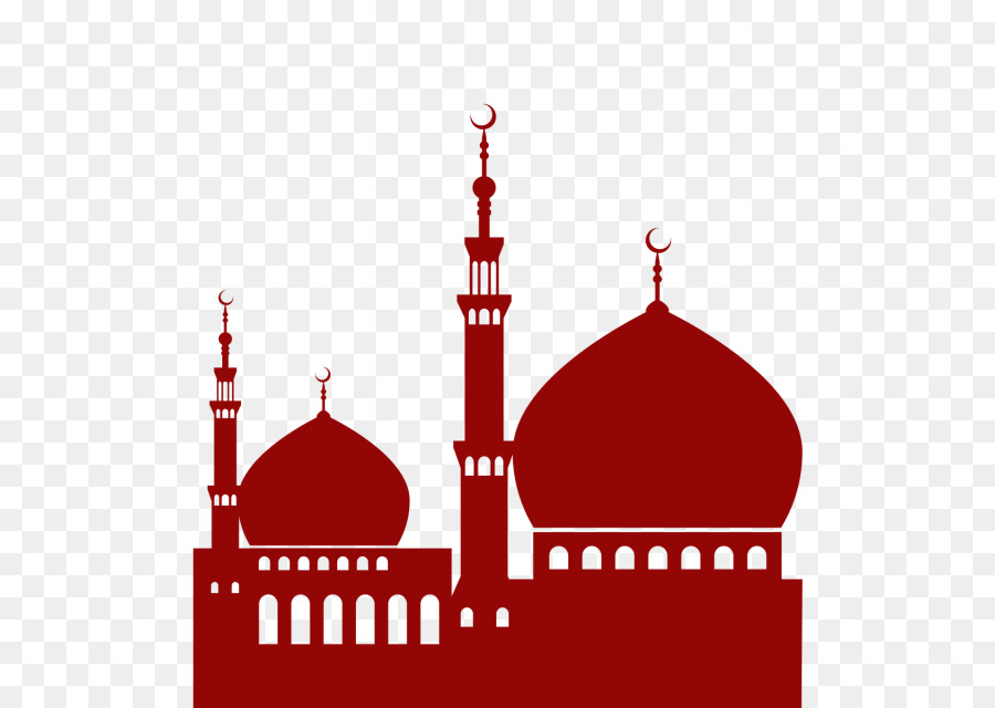 Background islam transparent . Mosque clipart red