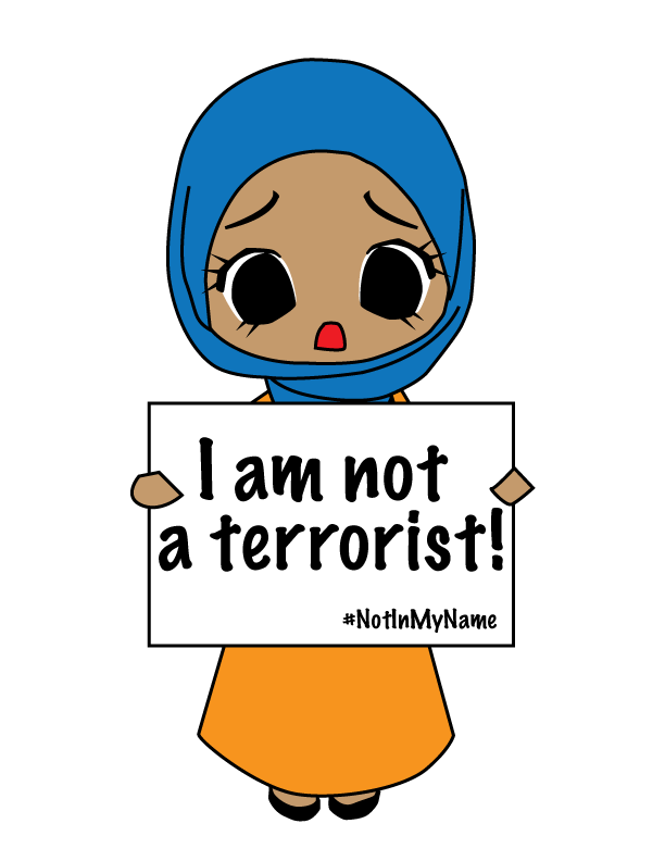 I am not a. Yelling clipart terror