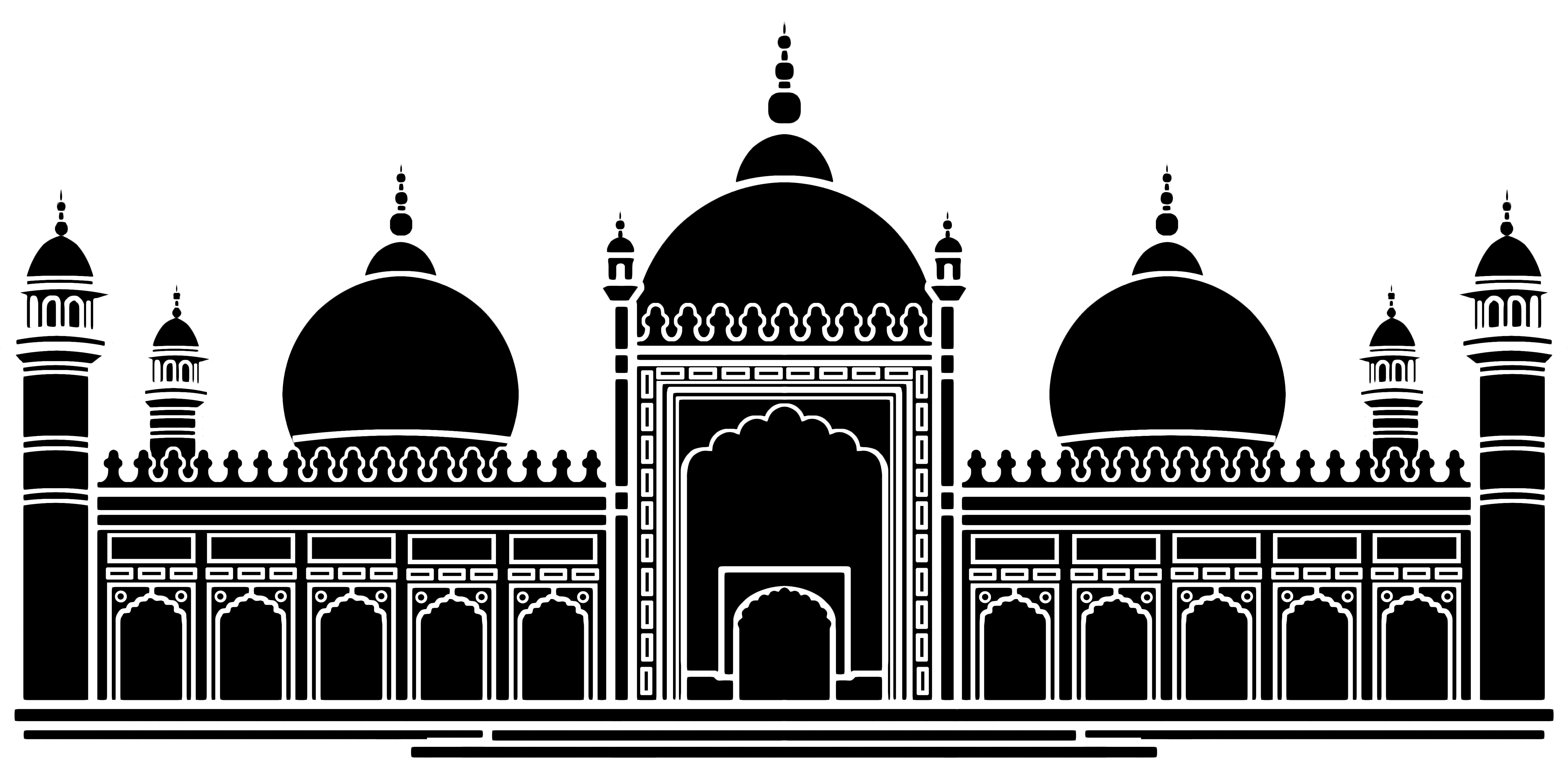 Faith buildings matching game. Mosque clipart sikh temple
