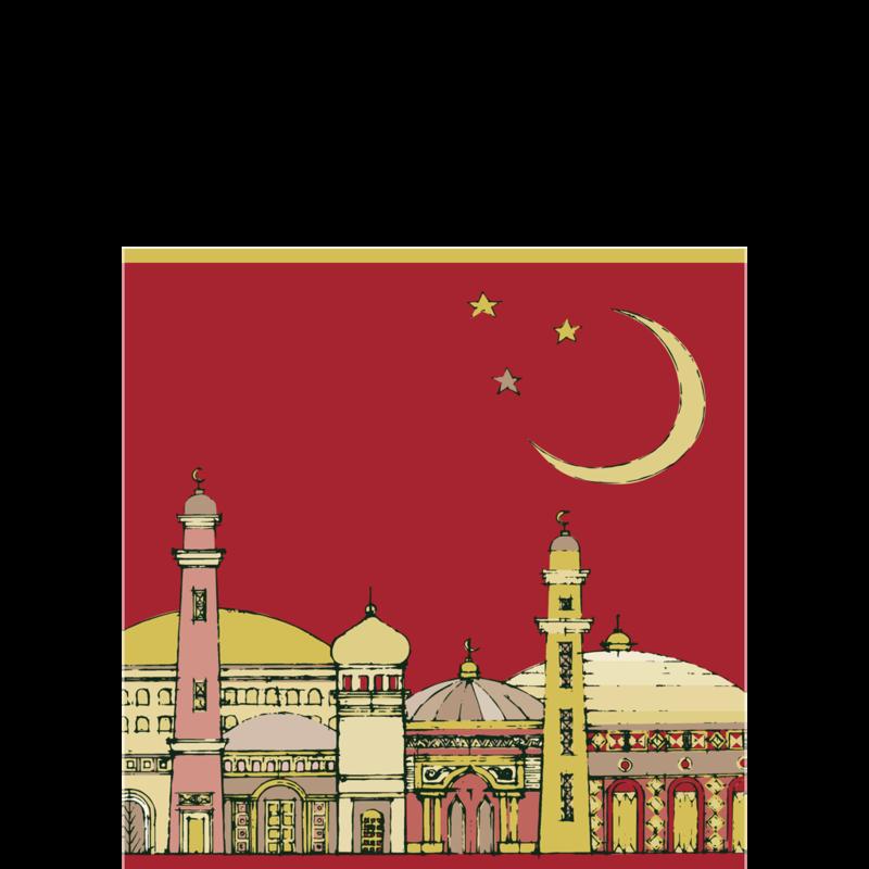 mosque clipart sketch