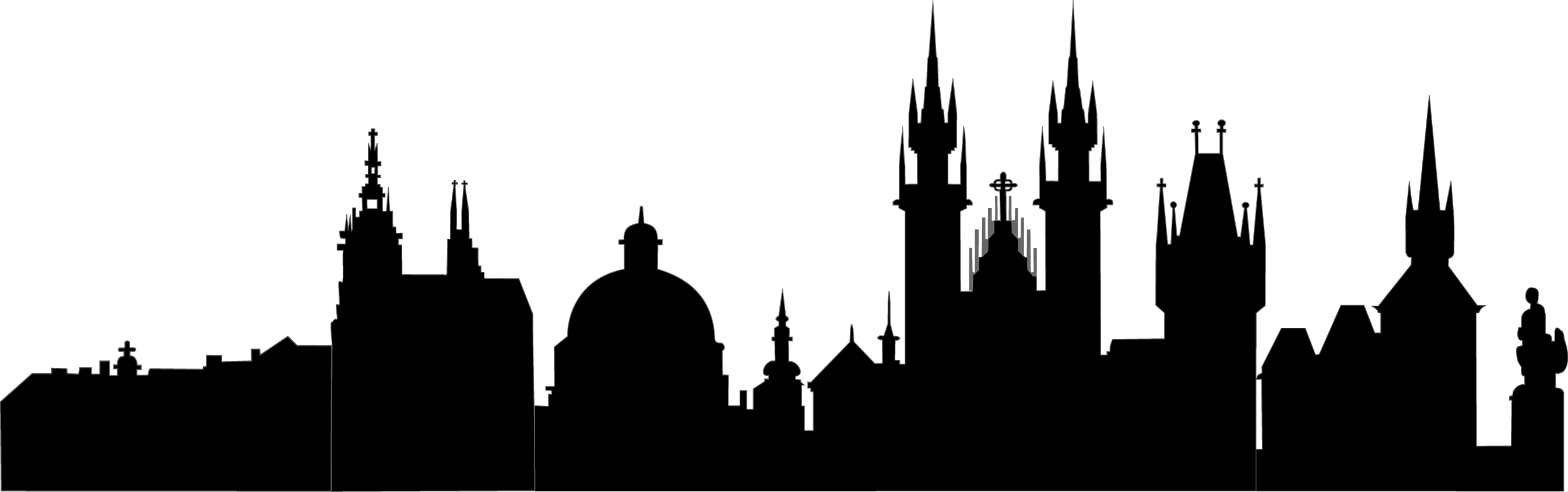 Mosque Clipart Skyline  Mosque Skyline Transparent Free