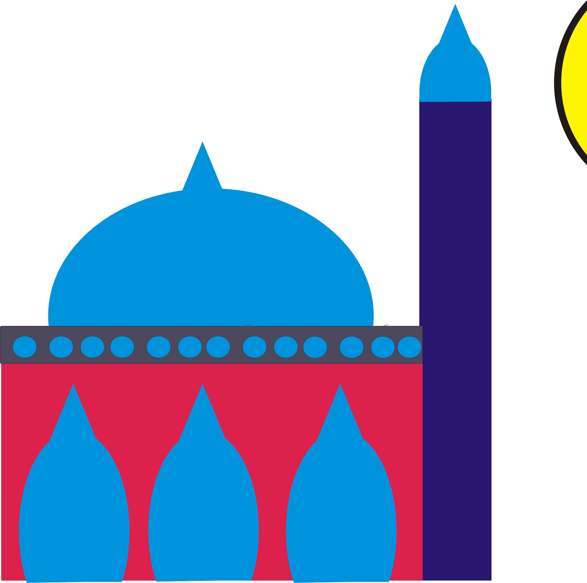 Mosque clipart small mosque. Masjid big image png