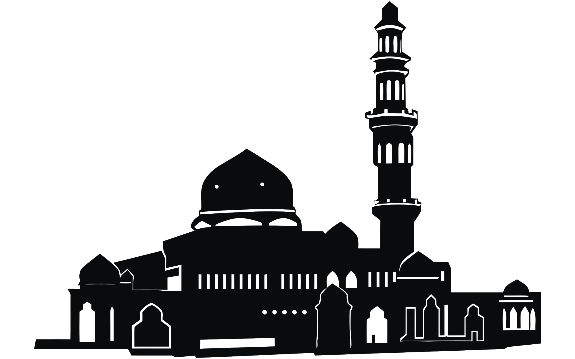 File building wikimedia commons. Mosque clipart svg