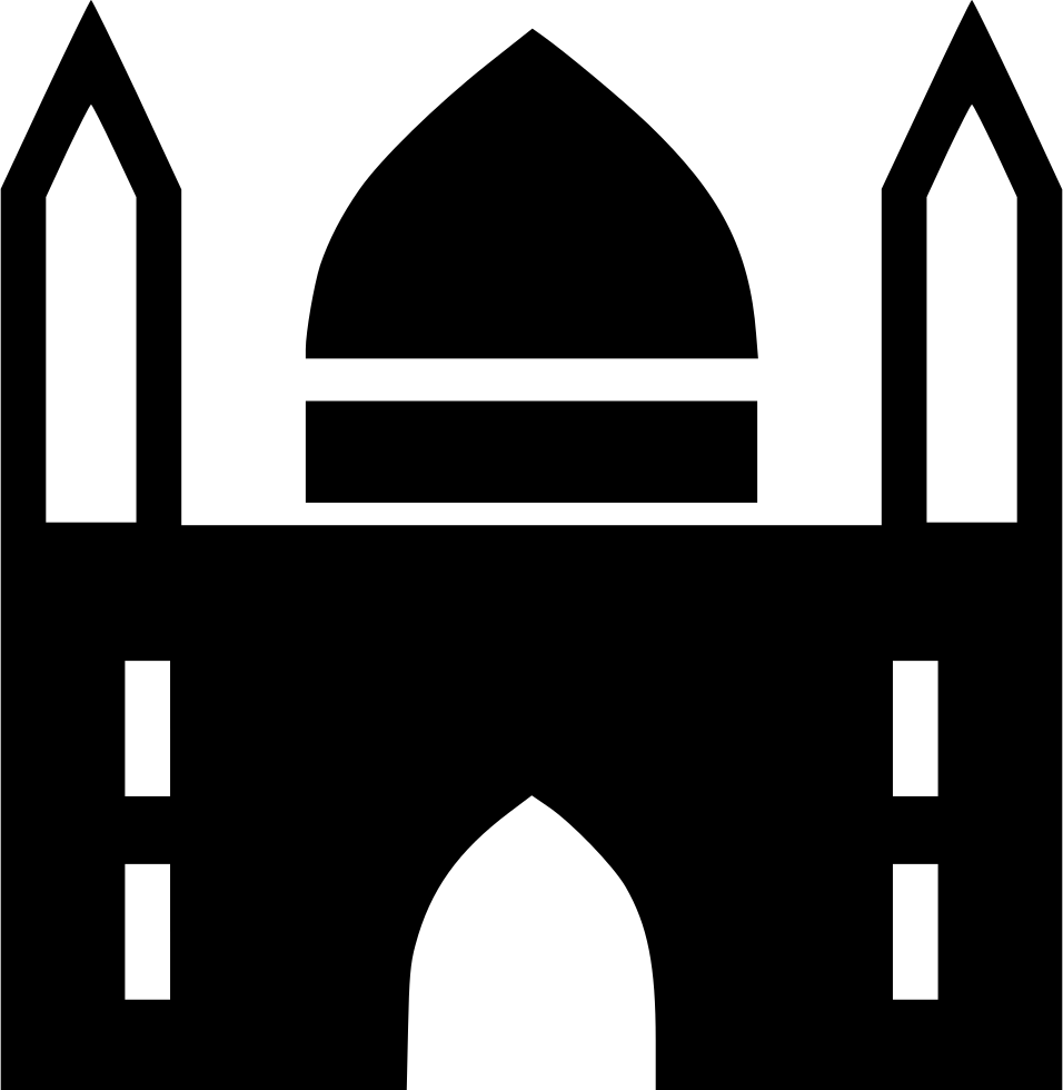 Png icon free download. Mosque clipart svg
