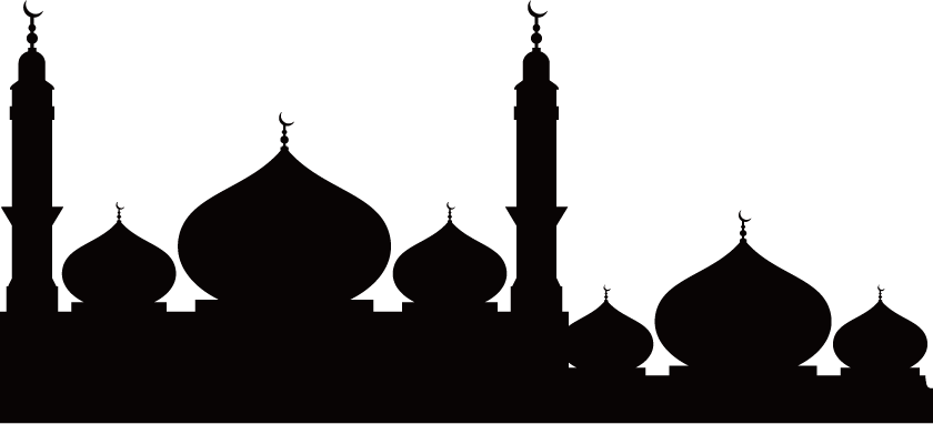 Silhouette png download . Mosque clipart temple