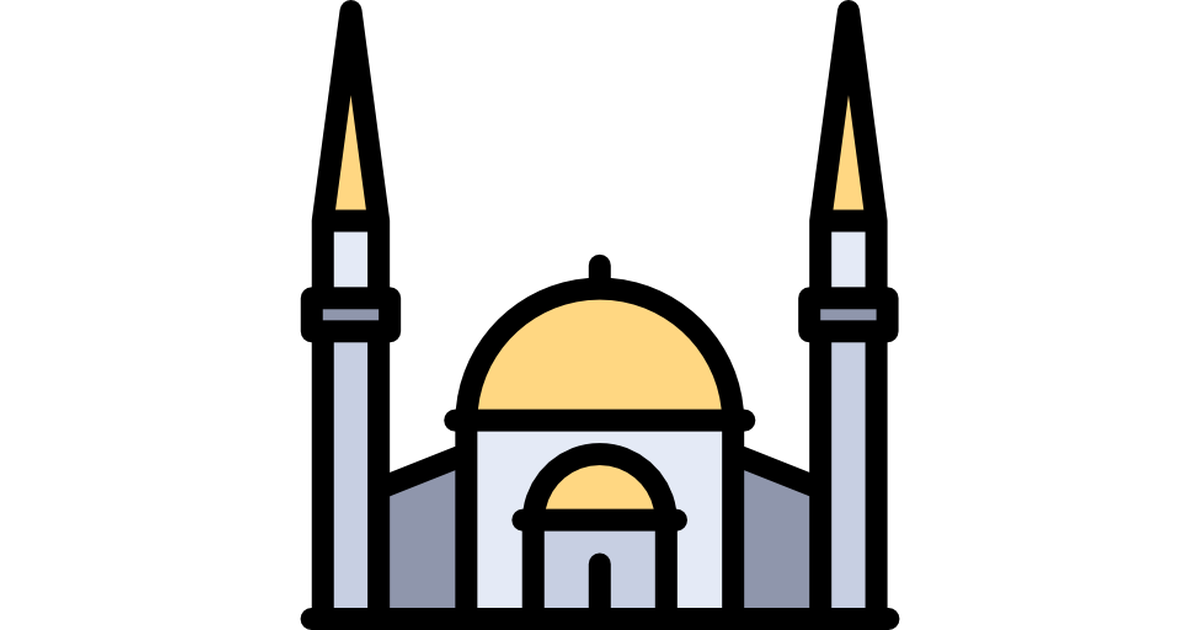 Milan cathedral clip art. Mosque clipart temple