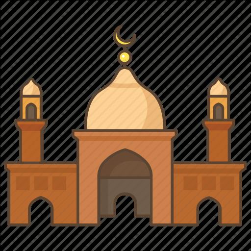Muslim cartoon islam transparent. Mosque clipart temple