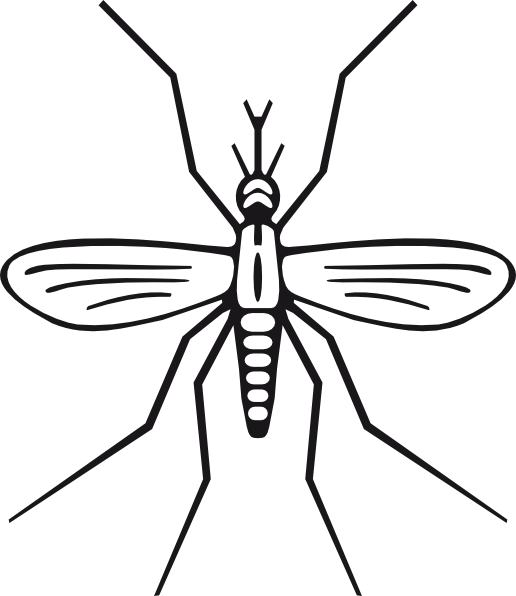 Clip art at clker. Mask clipart mosquito