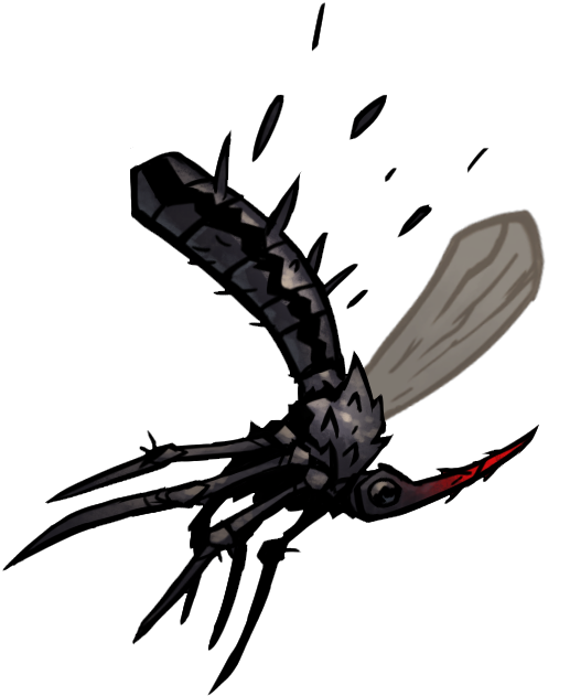 Mosquito clipart annoying fly. Sycophant official darkest dungeon