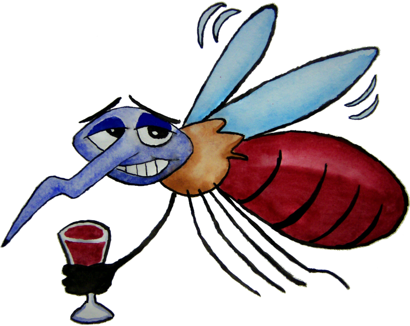 Mosquito clipart happy. Cocktail adamsart