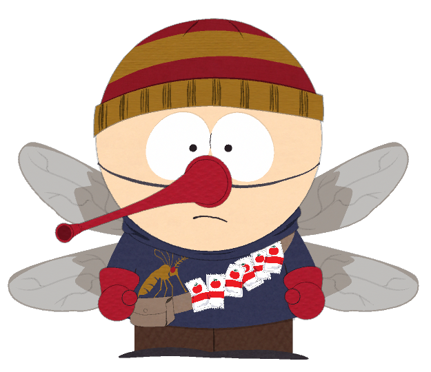Image png south park. Mosquito clipart kid