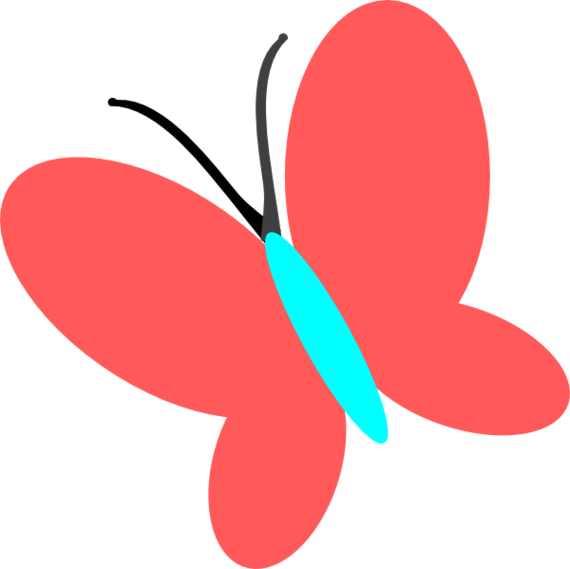 Moth clipart clip art. Red butterfly image library