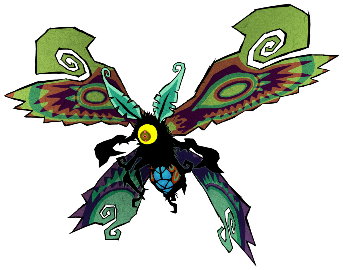 Mothula zelda wiki . Moth clipart death's head