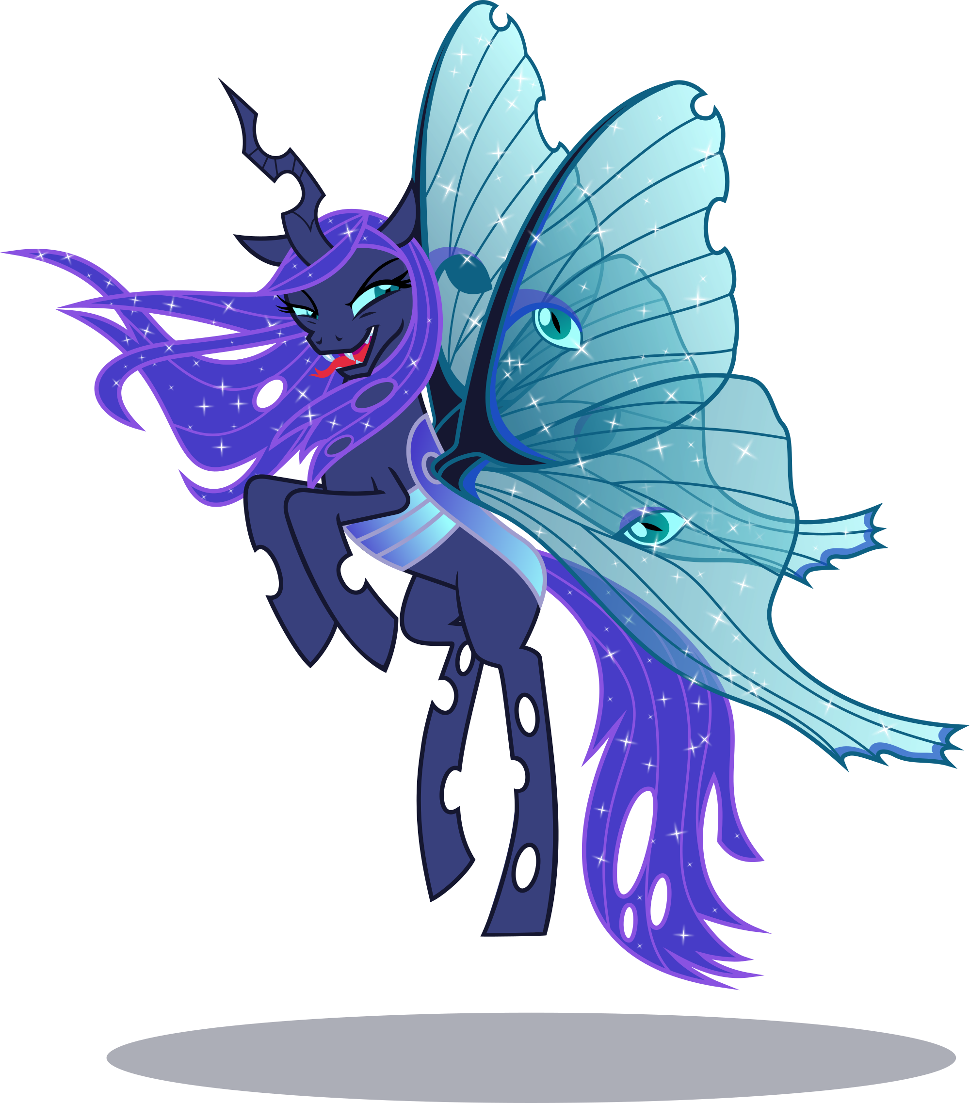 artist phucknuckl changeling. Moth clipart luna moth