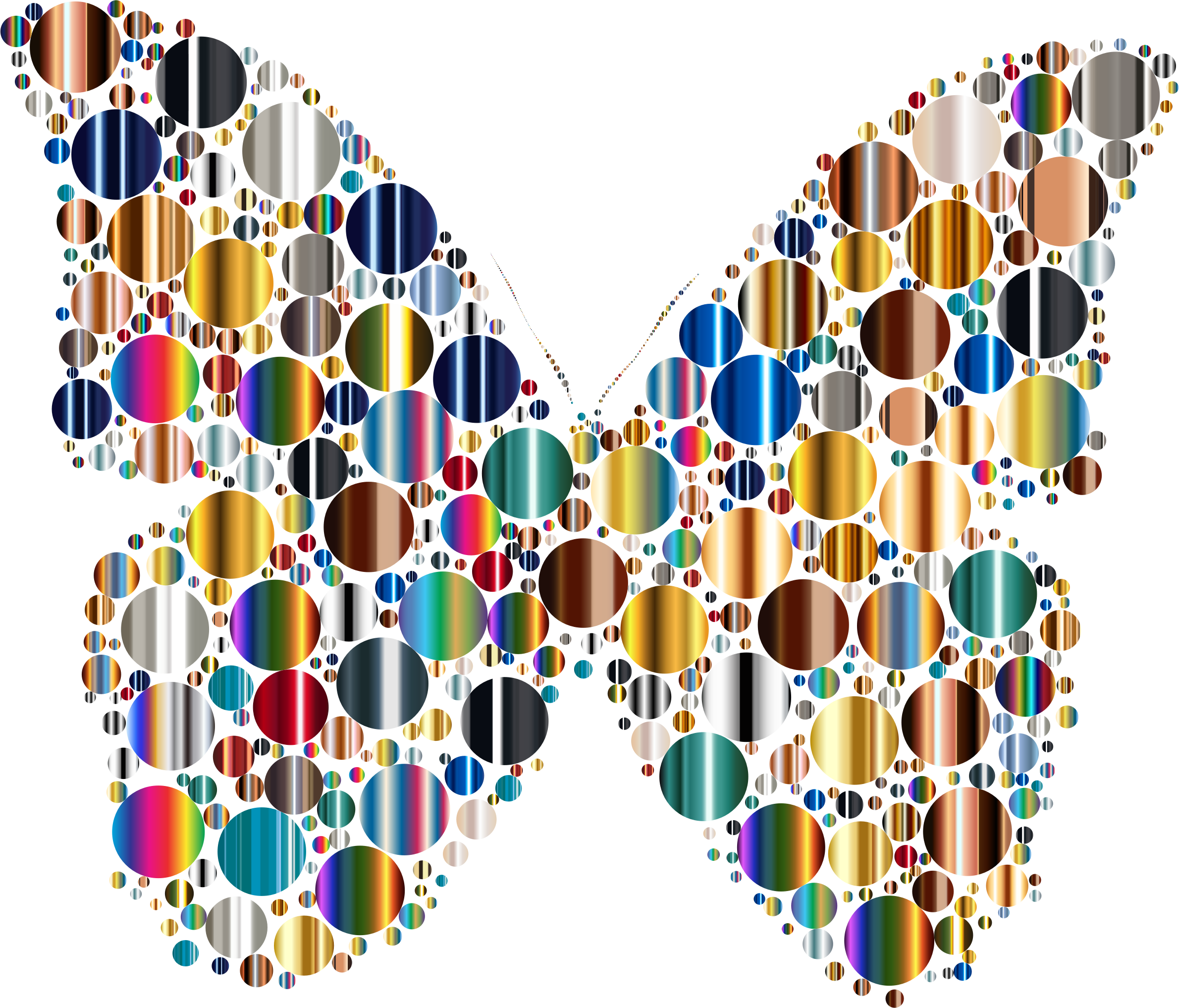Circles butterfly icons png. Moth clipart psychedelic