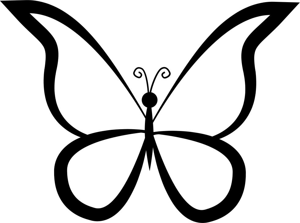 moth clipart svg