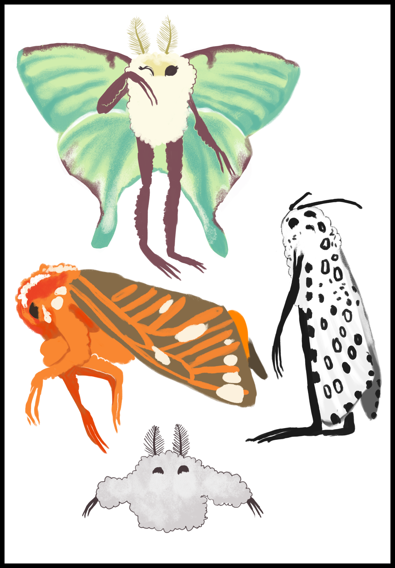 The best tags pict. Moth clipart transparent tumblr