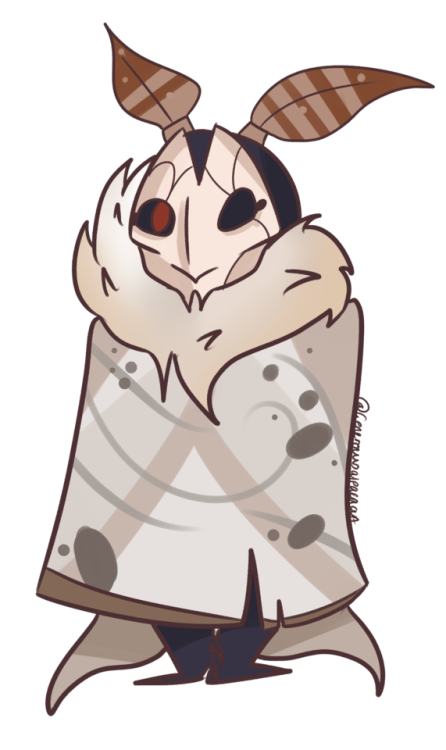 Jhin . Moth clipart transparent tumblr