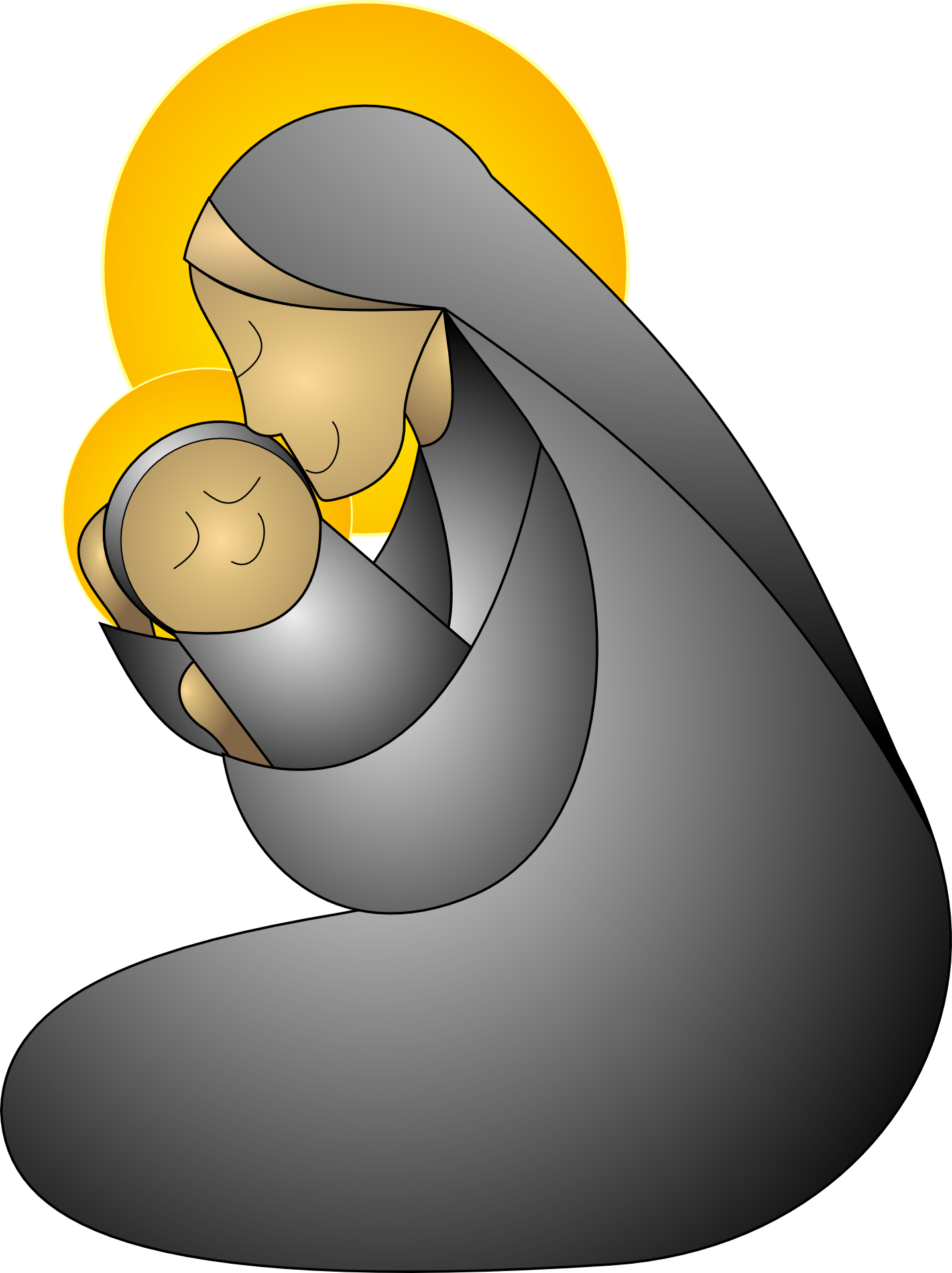 Mother clipart cuddle. Connection after breastfeeding my
