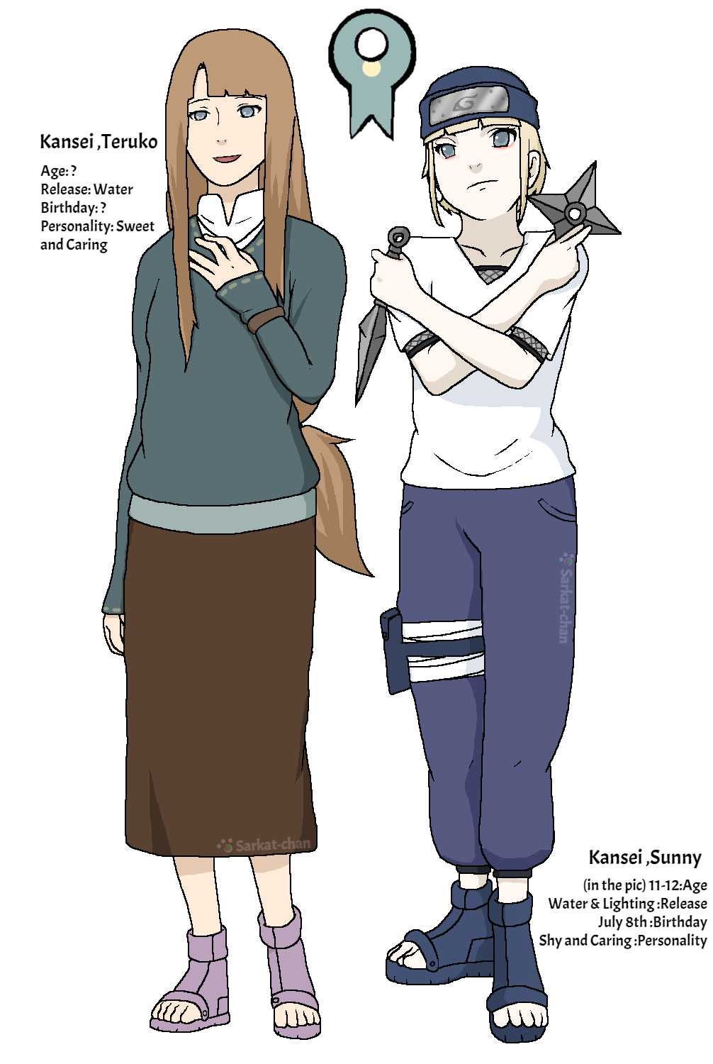 Sunny and her naruto. Mother clipart full body
