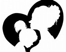 Mother clipart mother child. S day and clip